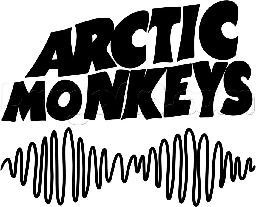 כל מיני לוגו של ארקטיק מנקיז Arctic Monkeys Monkey Logo Arctic