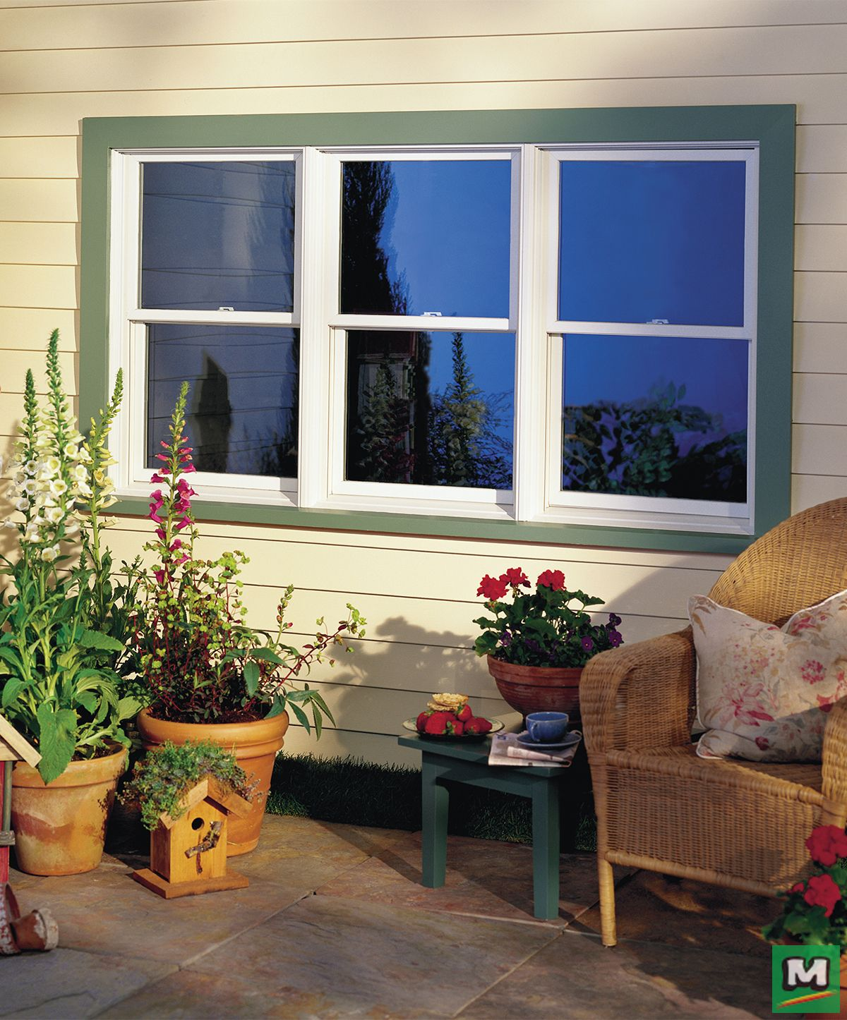 Brown Vinyl Windows