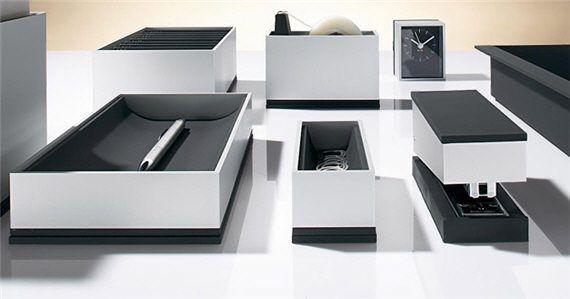 Modern Desk Organiser Set Desk Accessories Cool Desk Accessories Desk Organizer Set
