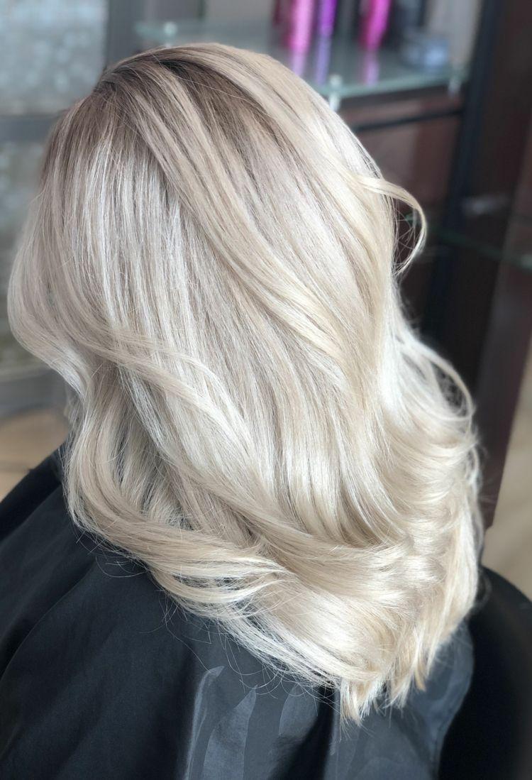 Färbetechniken Haare