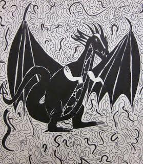 De zwarte draak.