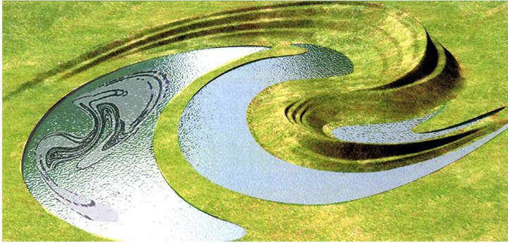 Landform Ueda, Charles Jencks, Scottish Gallery Of Modern Art