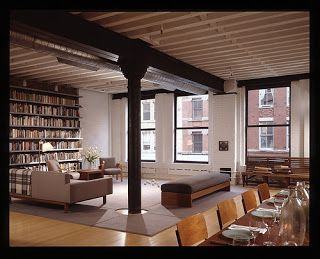 Having a loft, in NYC....