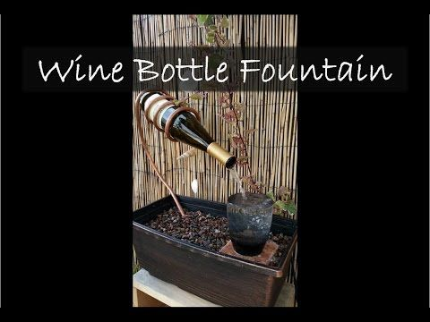 'On The Fly... DIY' Vortex Water Feature - YouTube #fountaindiy
