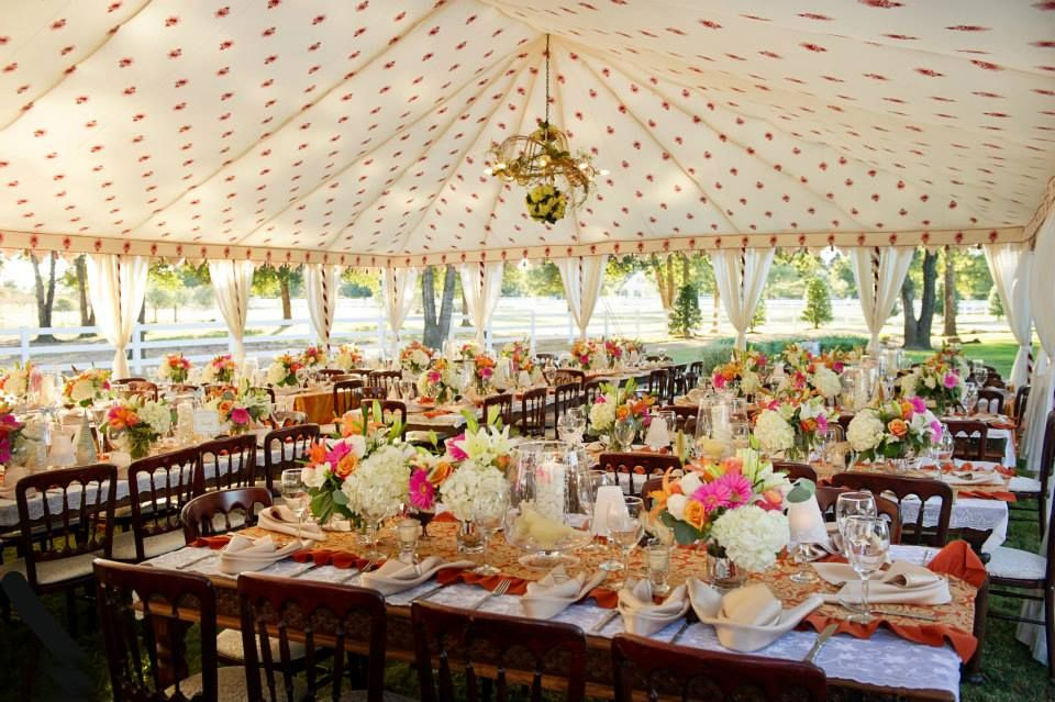 amazing tent and tablescapes
