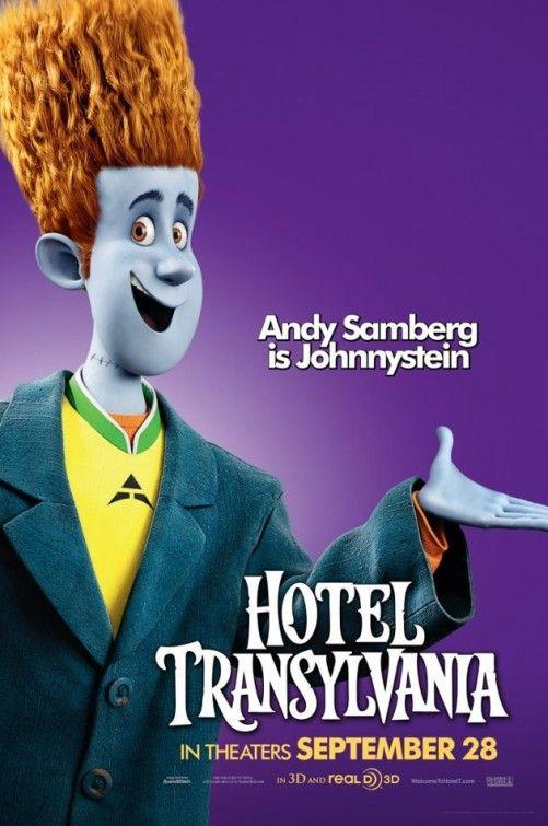 Andy Samberg Is Johnnystein In HotelTransylvania 092812