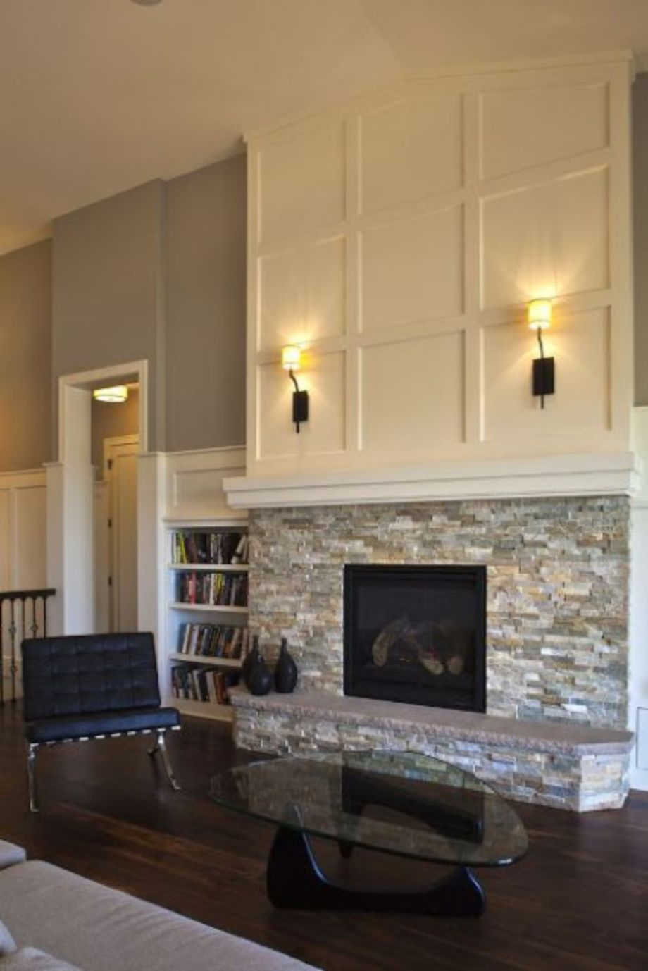 Cool Incredible DIY Brick Fireplace Makeover Ideas about