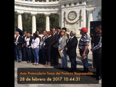 Ciudad Informativa Tv: Responsables X México rinde protesta en Hemiciclo a Juárez en el corazón de la Capital Mexicana