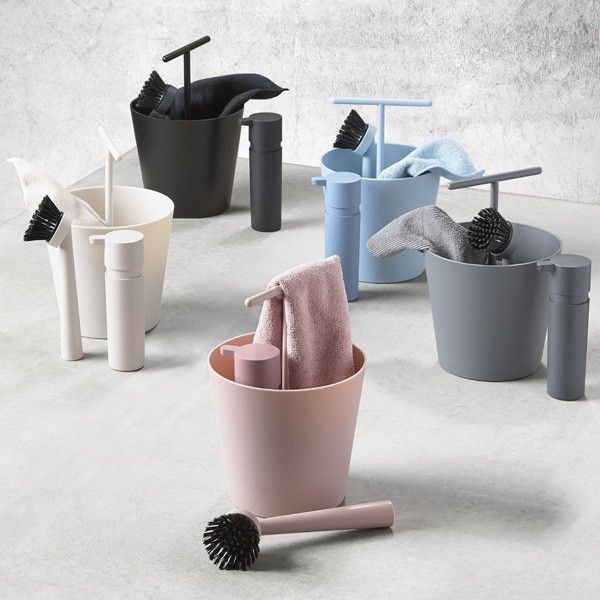 bucket dishwashing set zone denmark washing up set via. Black Bedroom Furniture Sets. Home Design Ideas