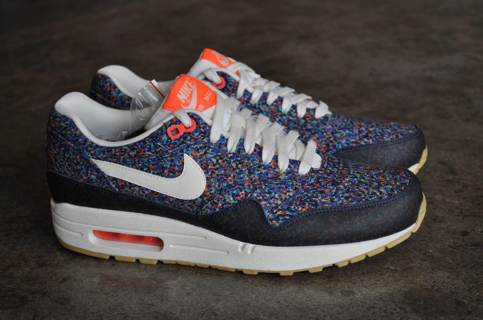 Nike Air Max 1 Liberty of London Pixel Running Shoes 528712 400