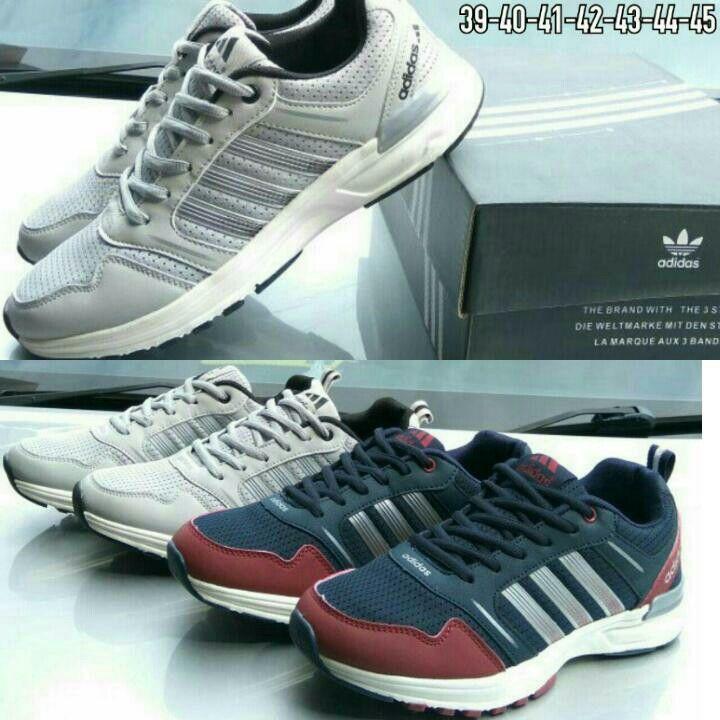 Shoes Sport Adidas A1701 Cowok Kwalitas Semi Premium Tersedia 2