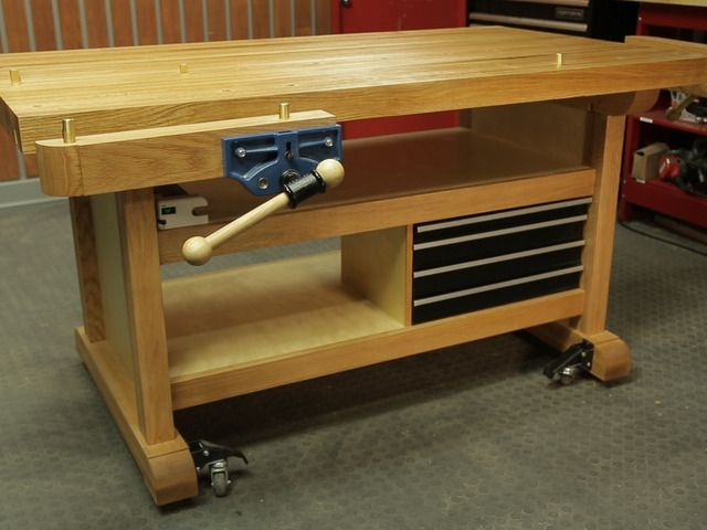 Marvelous Custom Workbench Craftsman Workbench Woodworking Projects Dailytribune Chair Design For Home Dailytribuneorg