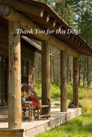 Log cabin porch log cabins in 2018 pinterest casas casas r sticas and casas de campo - Porches de casas de campo ...