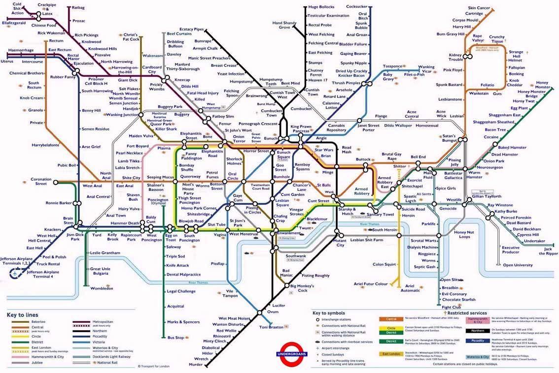 Alternative Tube Map Alternative Tube Maps Pinterest - London tube map 2014