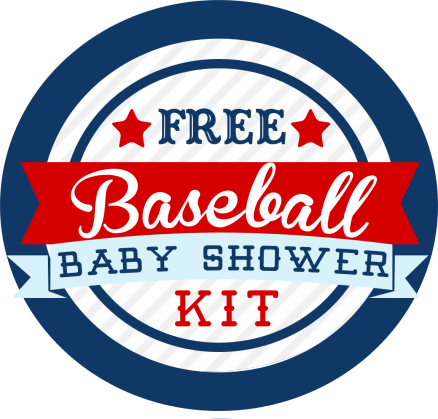 baseball themed baby shower kit – free | mom and dad, coaches and, Baby shower invitations