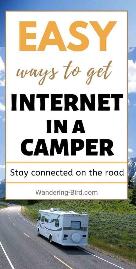 3 easy ways to get motorhome wifi & mobile internet on the road - Wandering Bird Motorhome Travel Blog