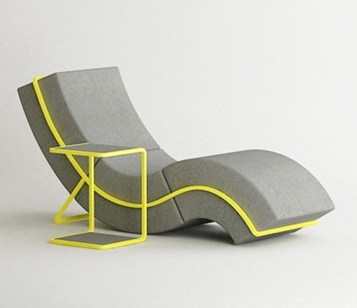 Curved Sofa Chair Chaise Lounge Y Thing Things Sofa