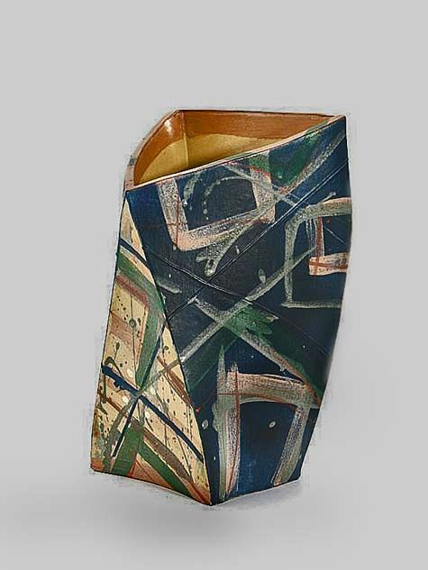 Alison Britton Abstract Vase Ceramics Pinterest Ceramic Design