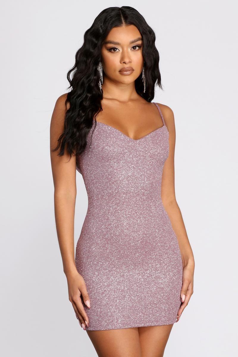 Glitter Goals Mini Dress Mini Dress Dresses Sleeveless Mini Dress [ 1200 x 800 Pixel ]