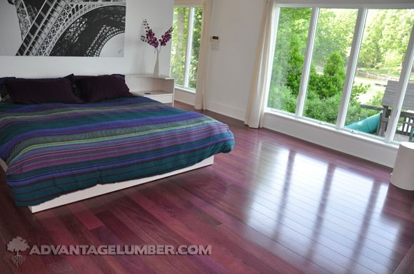 3¼ Purpleheart Unfinished Flooring
