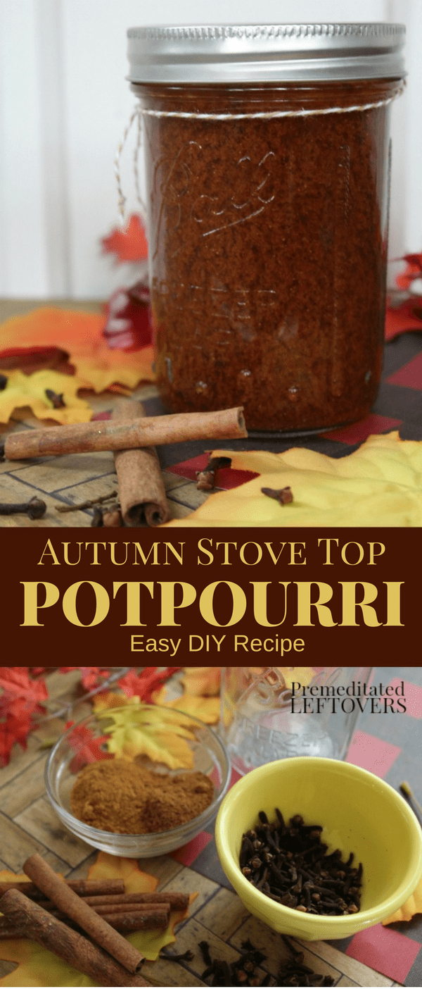 This Homemade Autumn Stove Top Potpourri Will Fill Your Home With The Warm Scents Of Cinnamon And Clove It Can Also Be Reused To Create A Lasting Fall