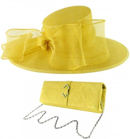 884374aea498c Latest Derby Hats: Failsworth Millinery Bow Events Hat with Matching  Sinamay Occasion Bag (Price: $168.74)