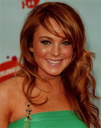 Lindsay Lohan Photo Lindsay Lohan Hair Hair Color For Black