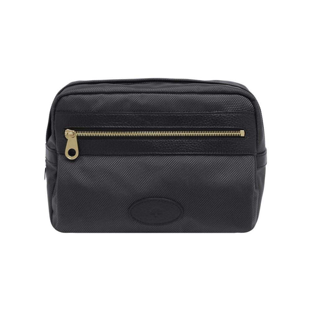 Mulberry Henry Wash Bag in Black for Men  c014ef229576f