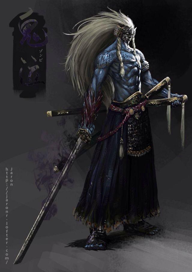Samuray Demons Amp Monsters Pinterest Samurai