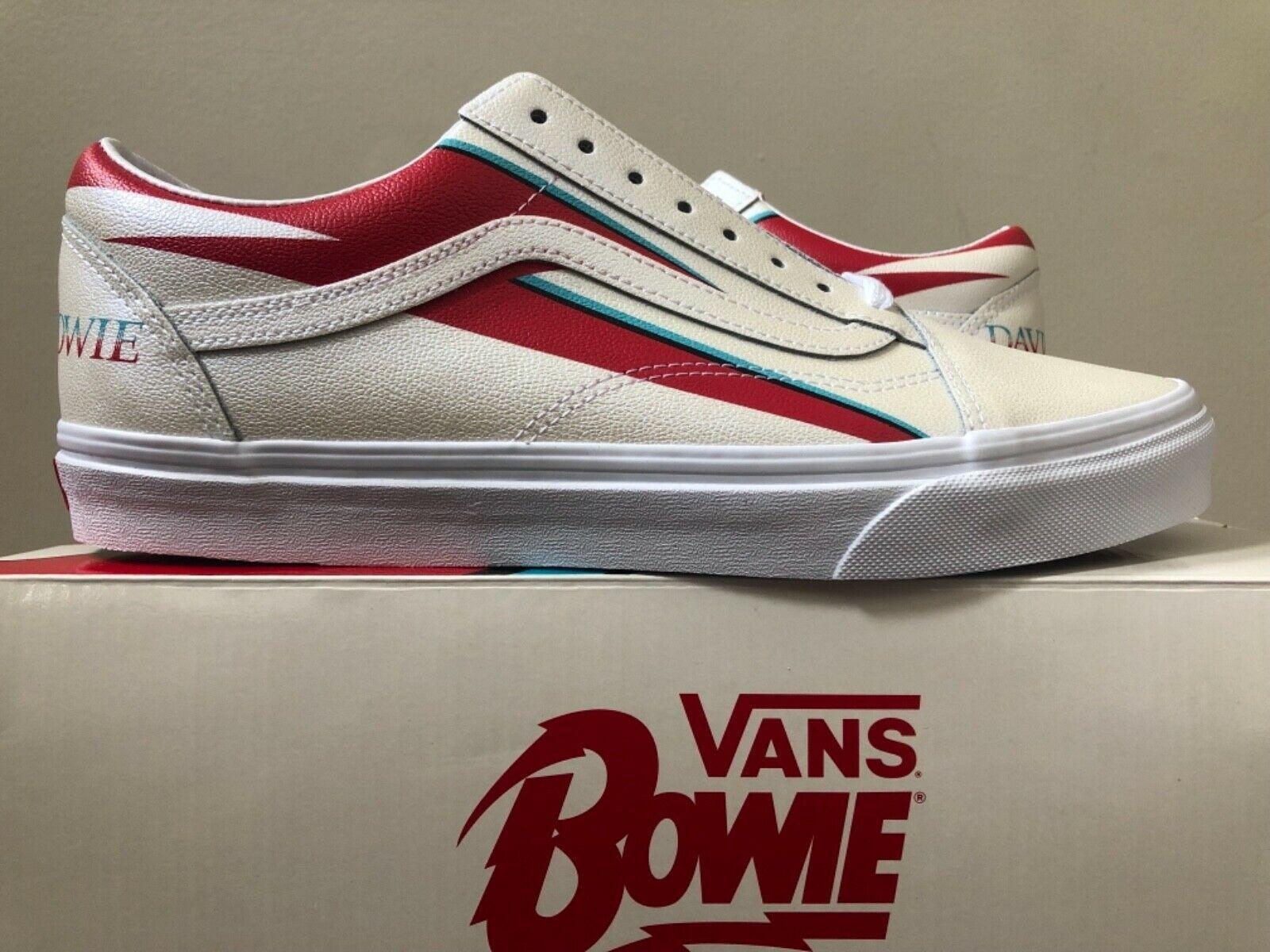 Best VANS Old Skool x David Bowie 'Aladdin Sane' 3.5 12