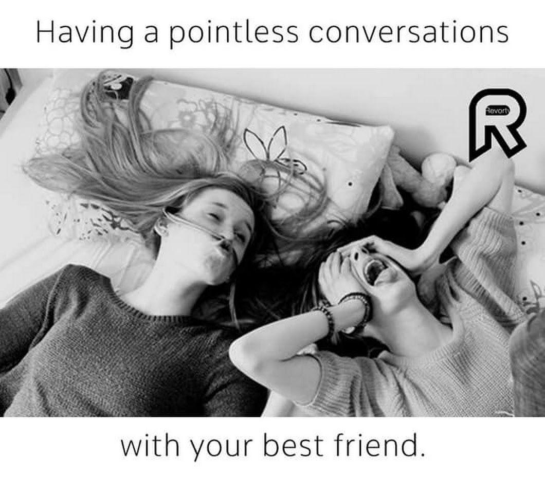 every night when we gar a sleepover best friends forever best