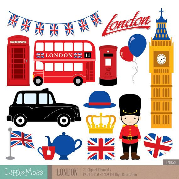 London Clipart British England By LittleMoss