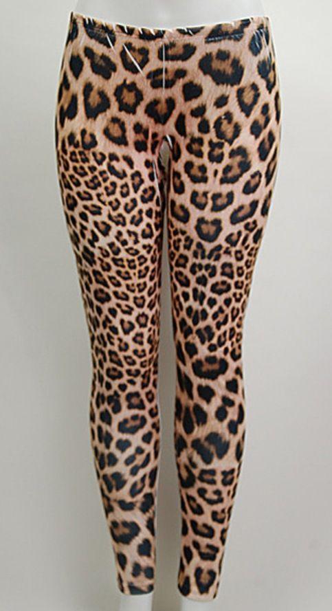 Plus size leopard print leggings | Leggins | Pinterest | Shops ...