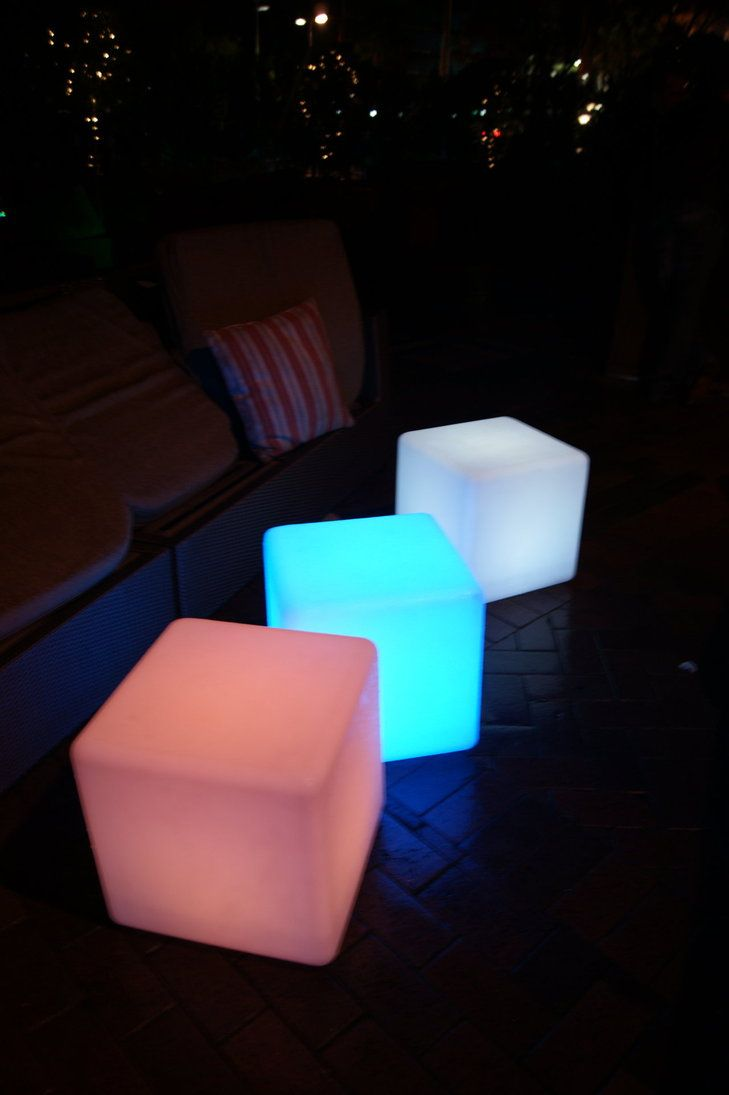 glow cubes you sit on glow cubes that catch my eye but don t