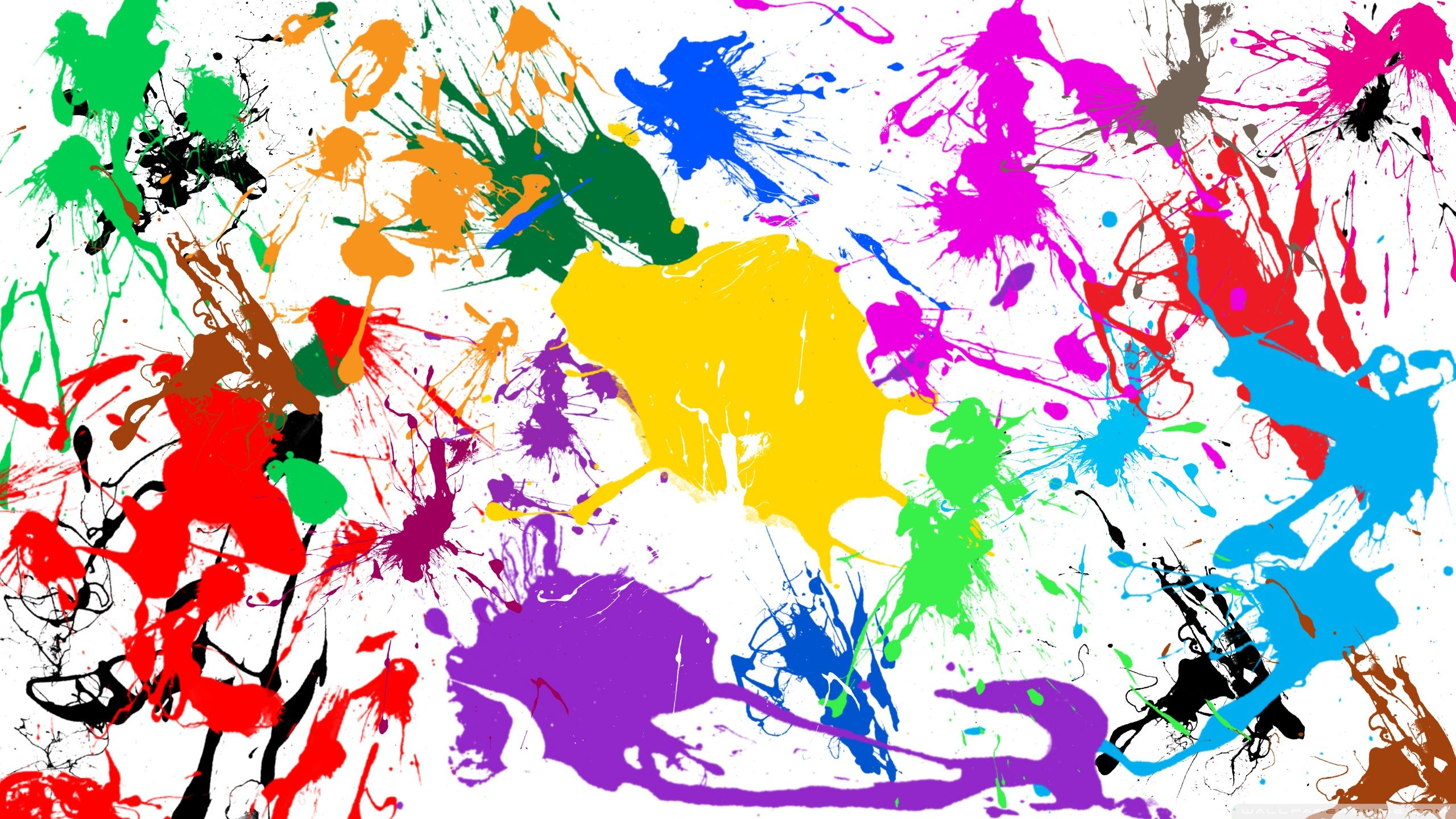 Abstract Paint Splatter Wallpaper Painting Painting Wallpaper Mural Painting