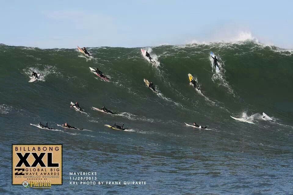 Mavericks- Big wave surfing