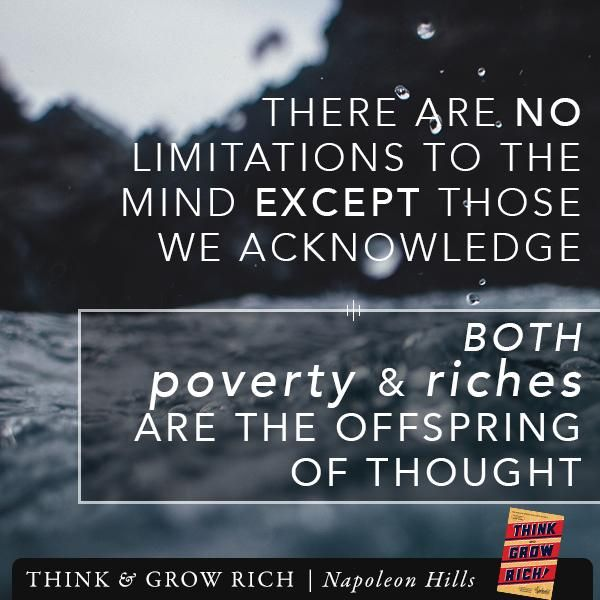 Think And Grow Rich Quotes Quotes Napoleon Hill Napoleon Hill Quotes Think And Grow Rich