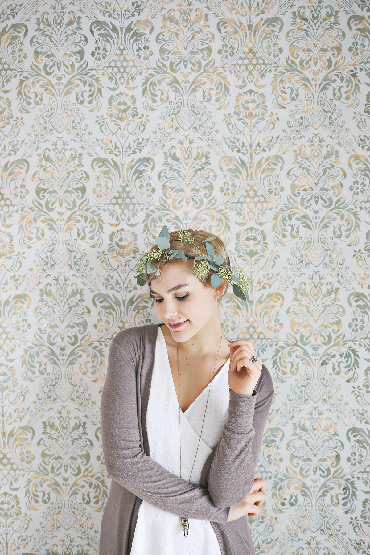 How to make eucalyptus hair wreaths find your floral pinterest how to make eucalyptus hair wreaths izmirmasajfo