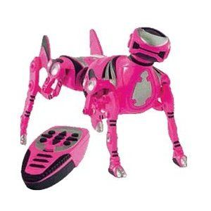 Robo Pet Pink Robotic Dog By Wowwee 128 94 Realistic Actions