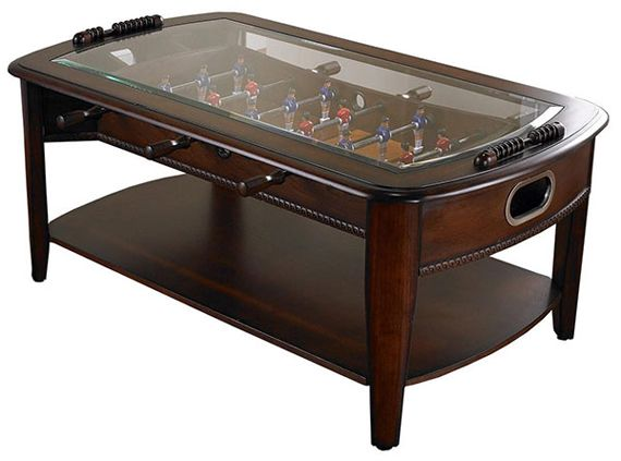 Cool #FathersDay Gift Idea : Foosball Coffee Table