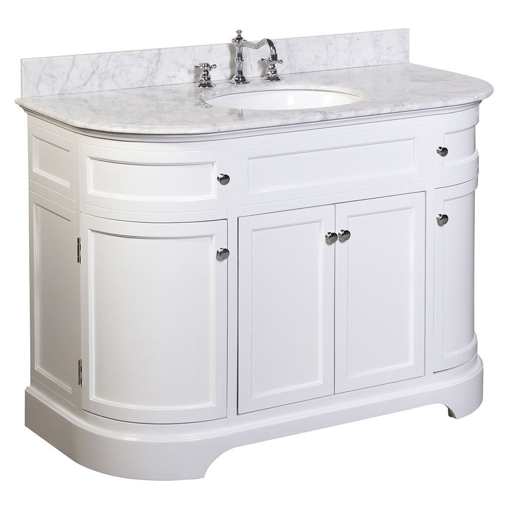 Montage 48 Inch Vanity Carrara White 48 Inch Bathroom Vanity Single Bathroom Vanity Kitchen Bath Collection