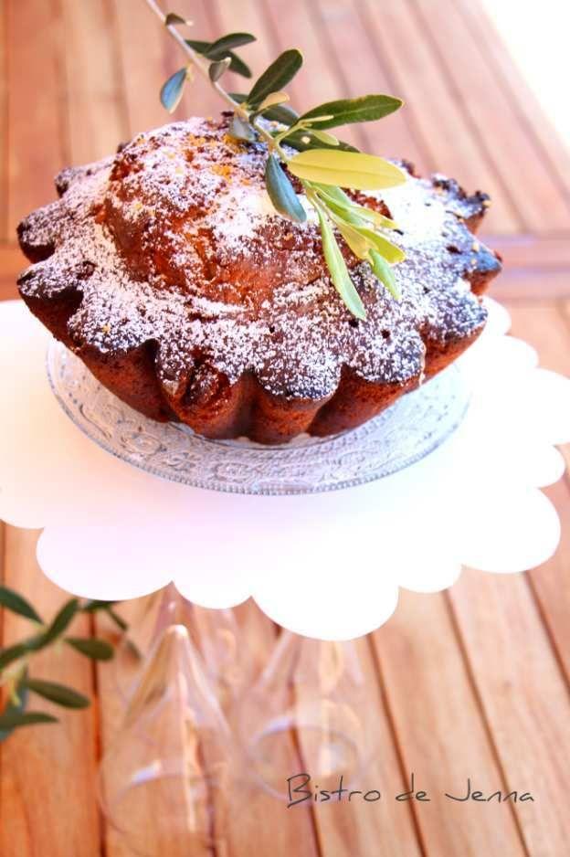 Gâteau au citron et huile d'olive