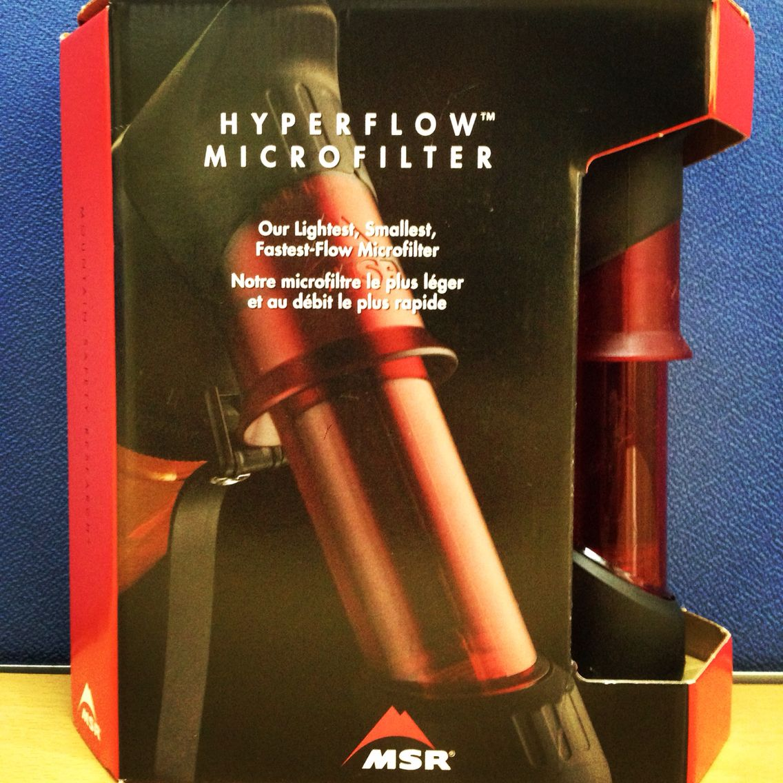 Msr hyperflow water filter p4100 with images water