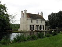 The Old Mill House, Bedhampton. Here Keats wrote, in 1818, The Eve of St Agnes. In 1820 he spent his last night in England in this house, owned by John Snook, brother-in-law of Keats's friend and Hampstead neighbour Charles Wentworth Dilke.