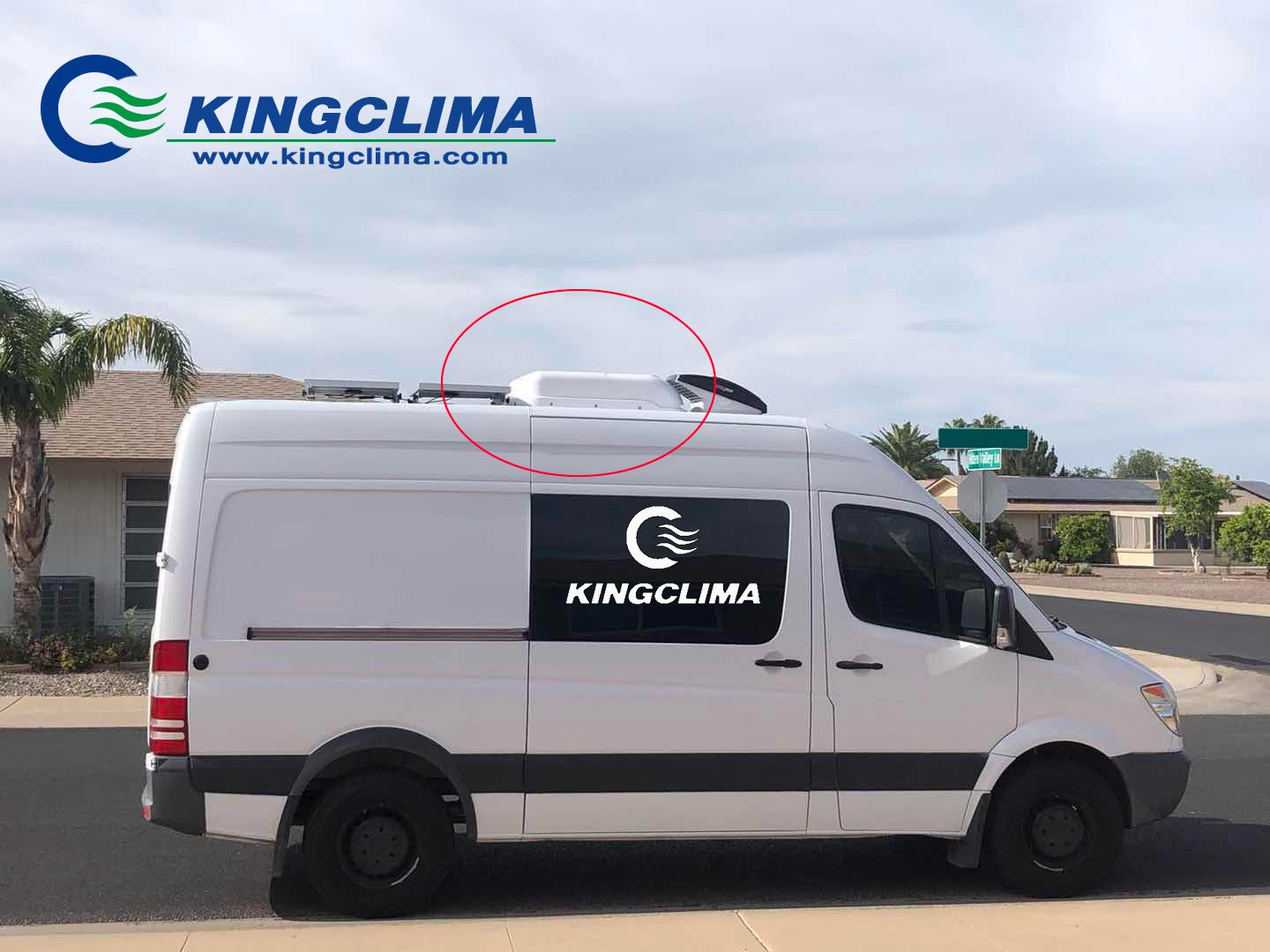 4000W cooling solutions for the vans, export to America