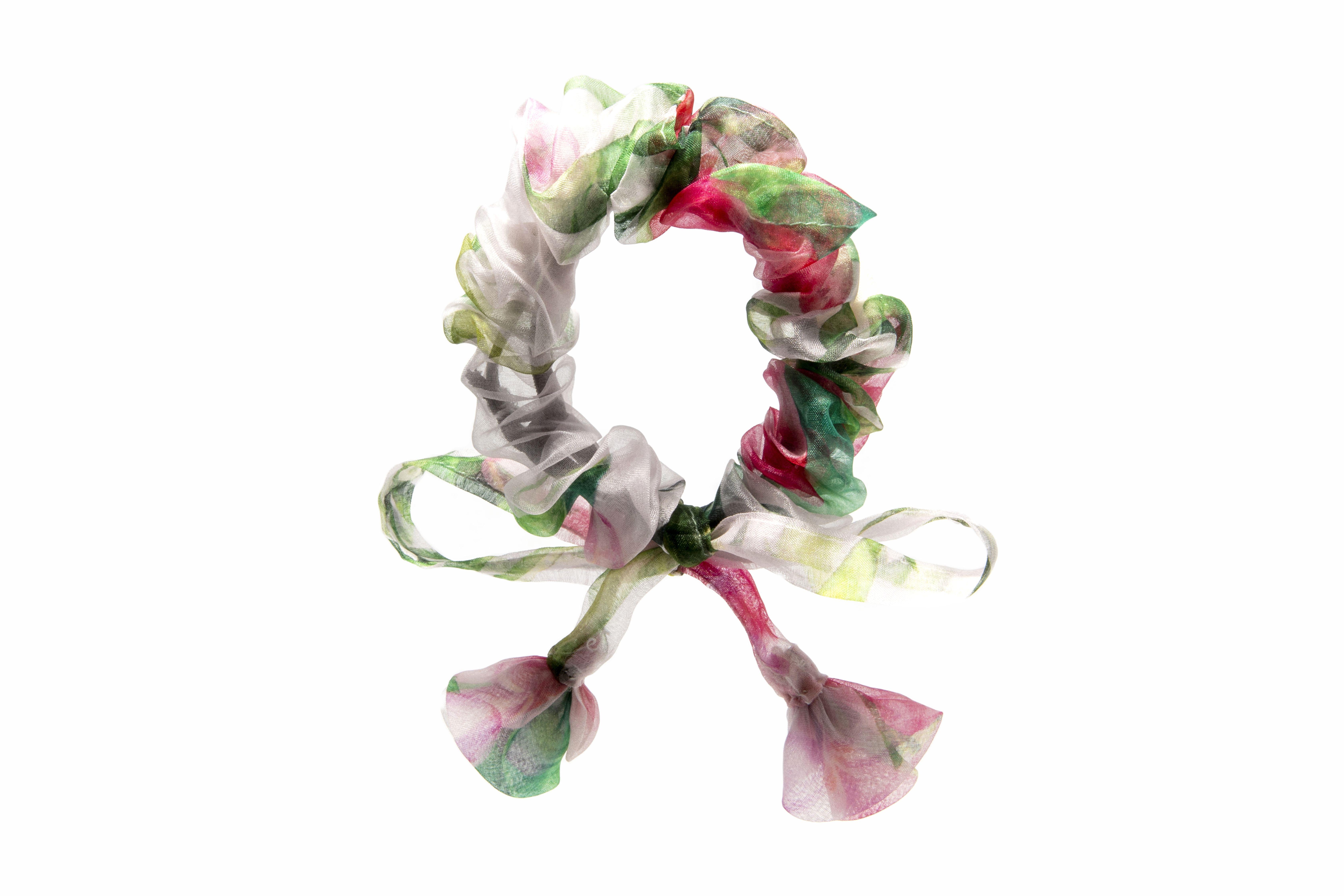 bow scrunchie handmade velvet bow scrunchie vintage Christmas gift Hair velvet burgundy color bow bow Christmas accessory