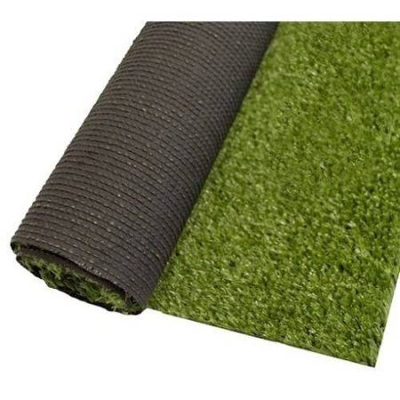 Aleko AG2X3CS 6 sq ft Roll Indoor/Outdoor Artificial Garden Grass, C Shape Monofil PE, 2' x 3', Green