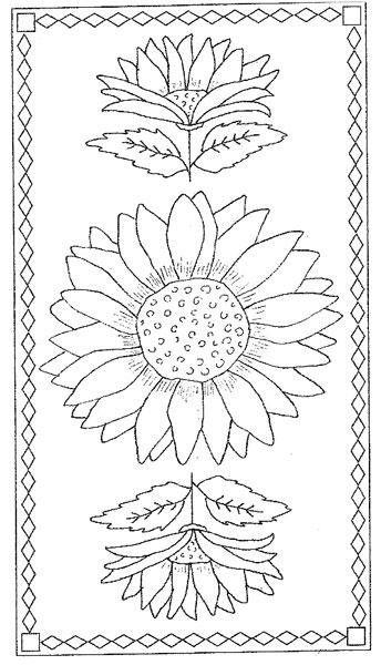 Biggest_Sunflower_Rug_-_Rug_Pattern_on_Linen_-_24_x_47