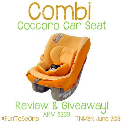 OVER Combi Coccoro Car Seat FunToBeOne Open To The US Only Ends 6 27 At 1159 PM