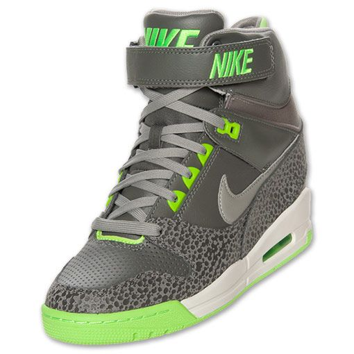huge selection of f83ac 20feb Womens Nike Air Revolution Sky Hi Casual Shoes  FinishLine.com  Mercury  GreyMine Grey